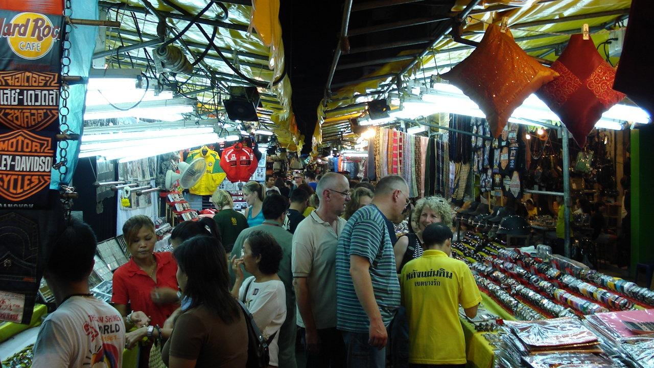 Patpong Night Market in Bangkok