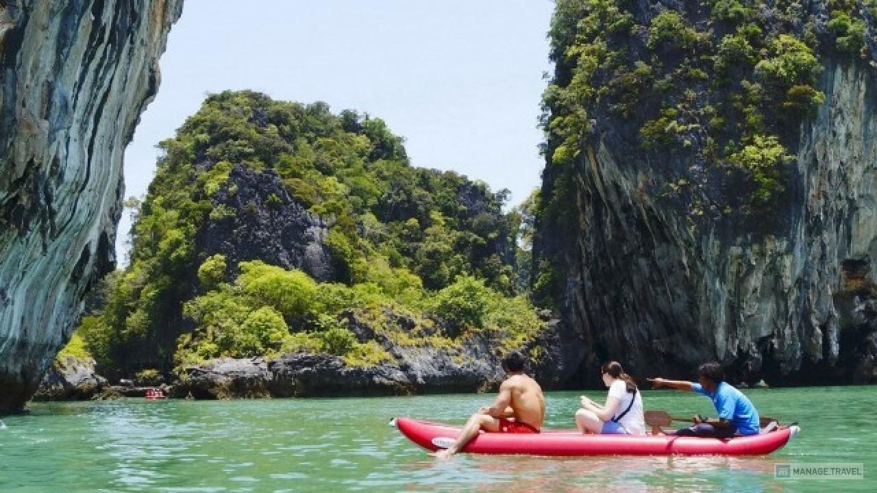 Sea Kayaking in Phang Nga Bay - Thailand