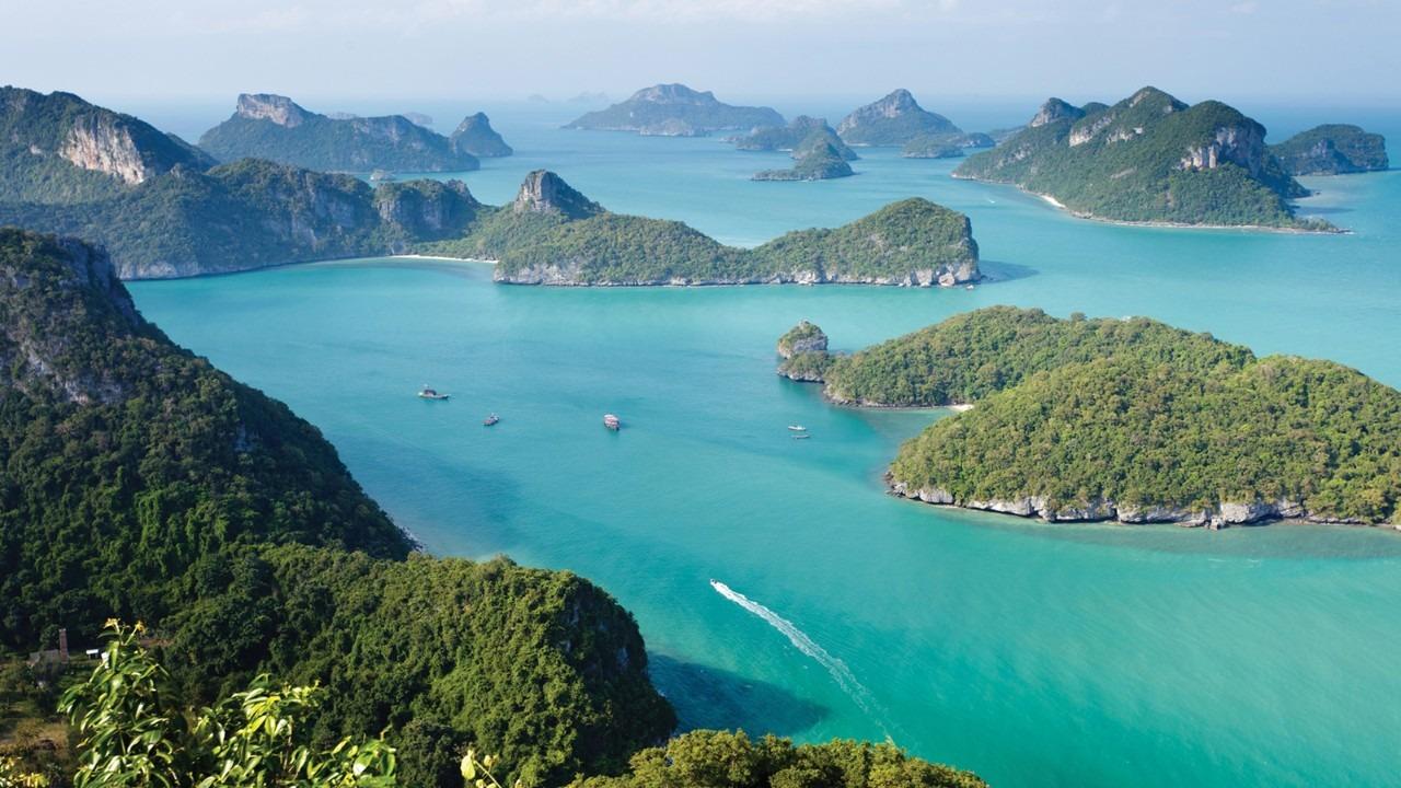Angthong National Marine Park - Koh Samui - Thailand