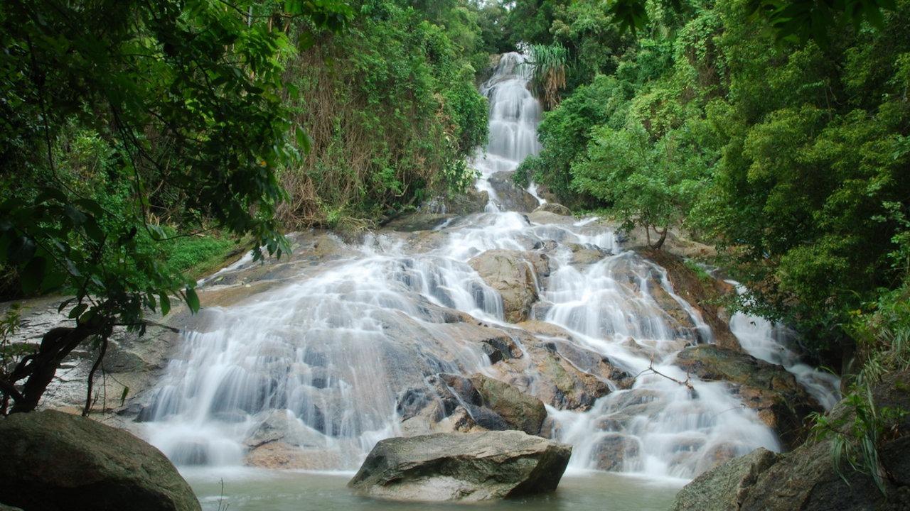 Na Muang Waterfall - Koh Samui - Thailand