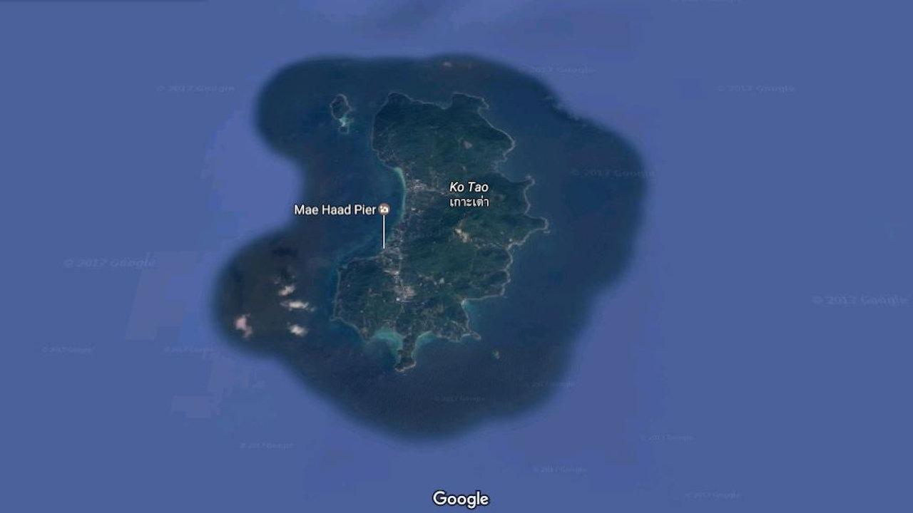 Koh Tao Map