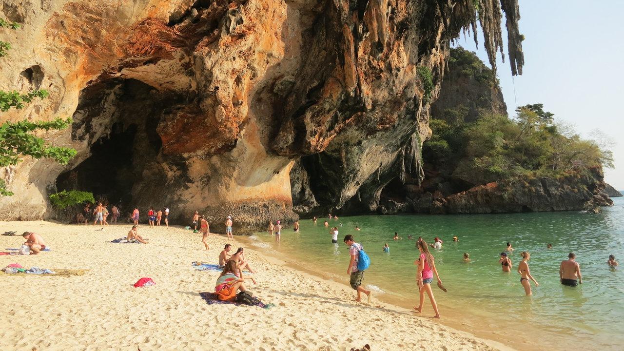 Phra Nang Beach, Railay Peninsula, Krabi