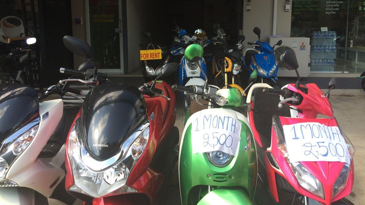 Motorbike Thailand Tourist Scams