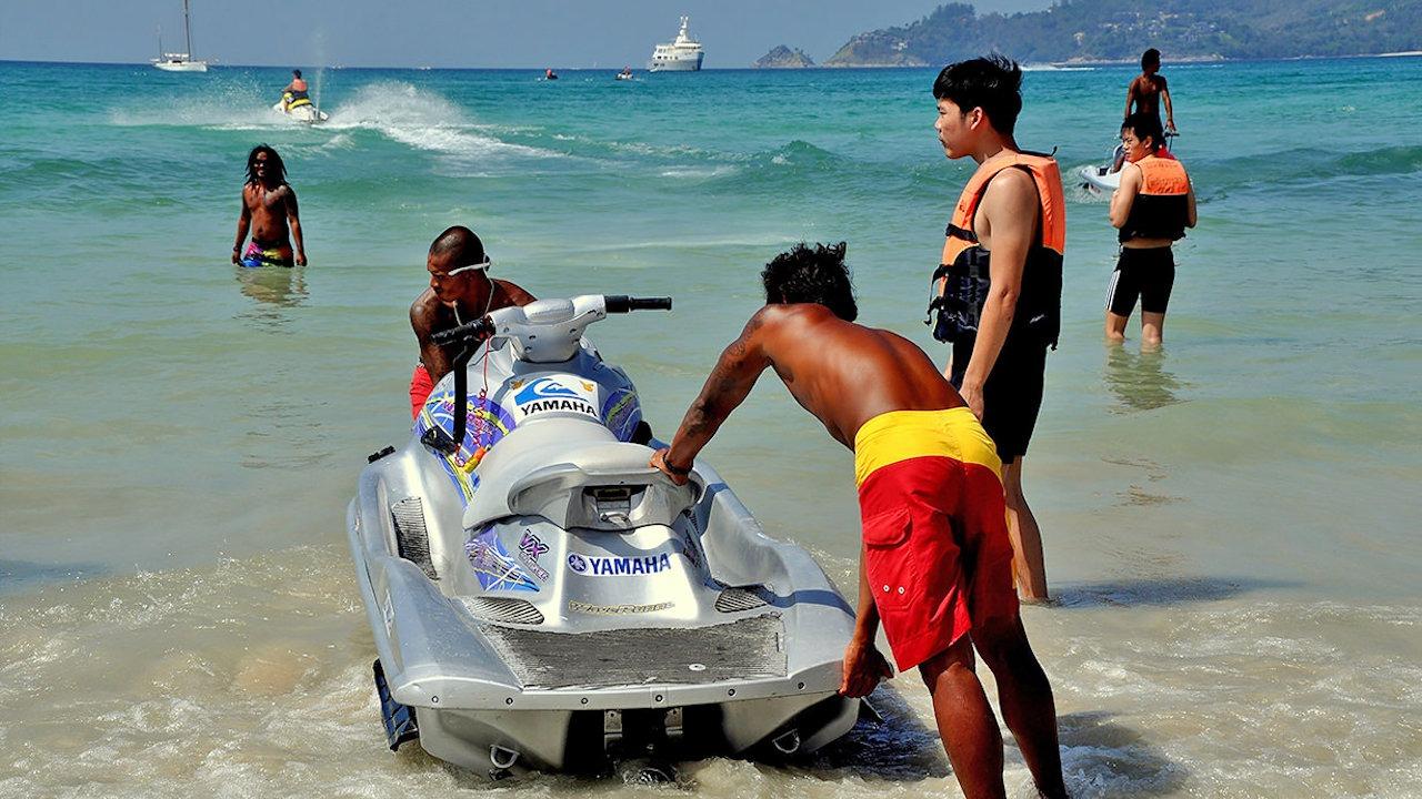 Jet Ski Thailand Tourist Scams