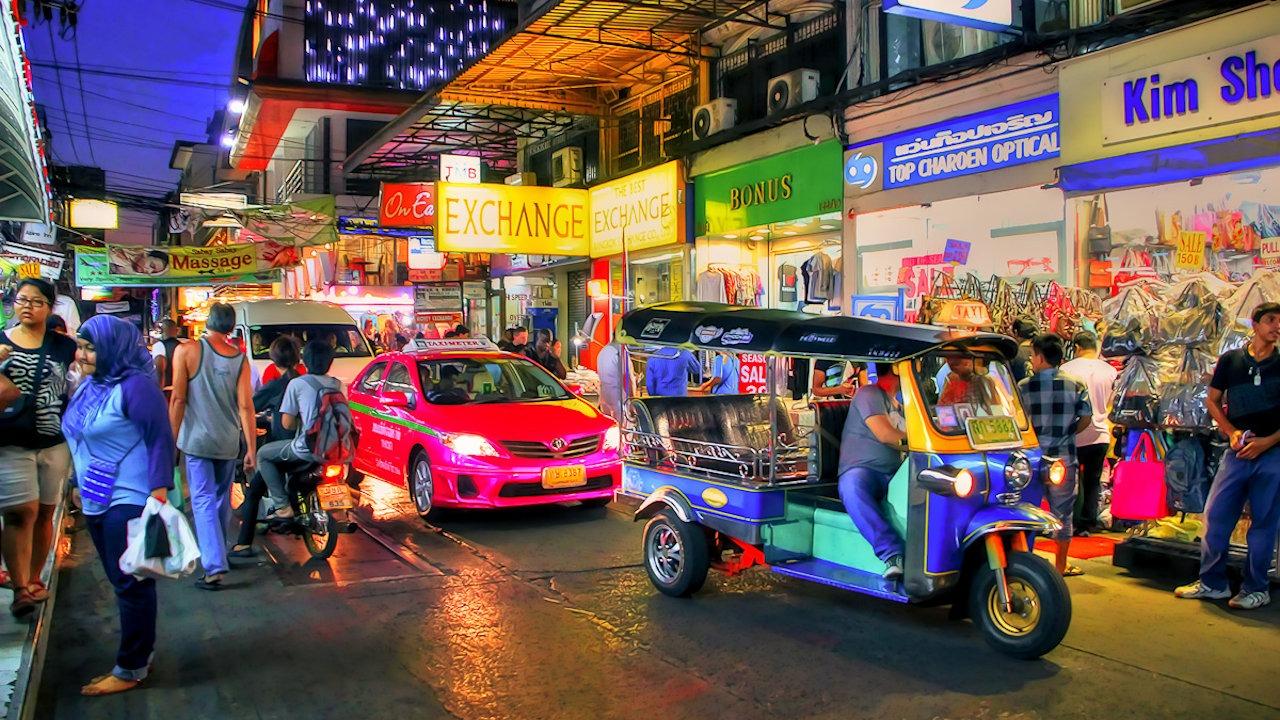 Thailand Tuk Tuk Scam