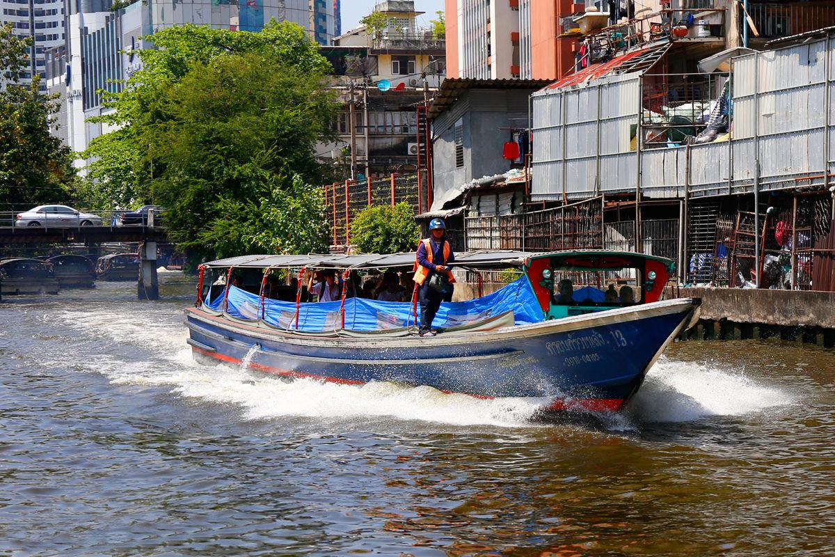 Klong Boat Bangkok