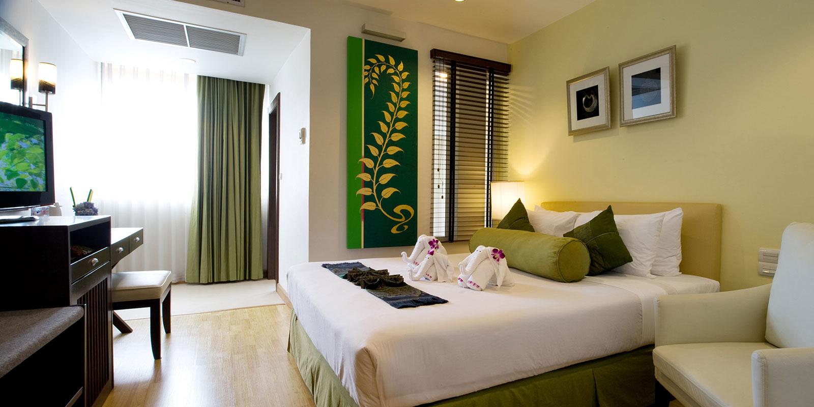 Bangkok Centre Hotel Room