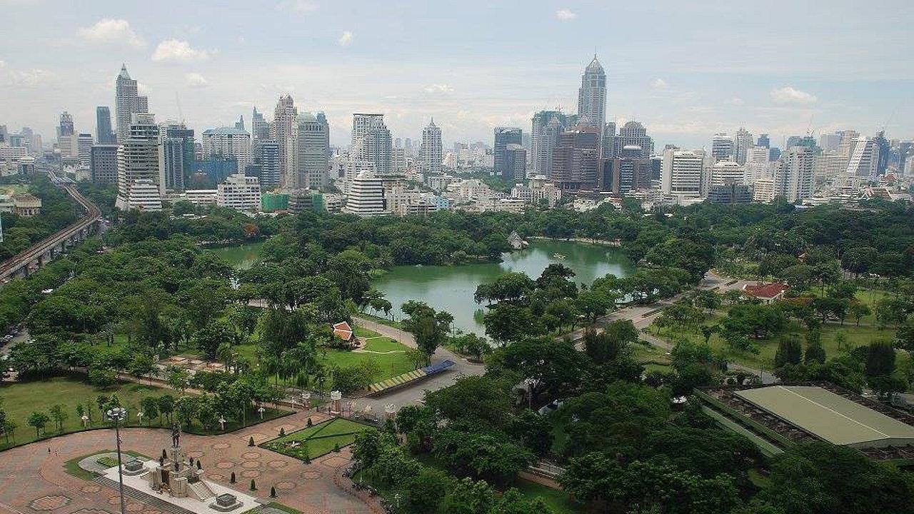 Lumphini Park in Bangkok