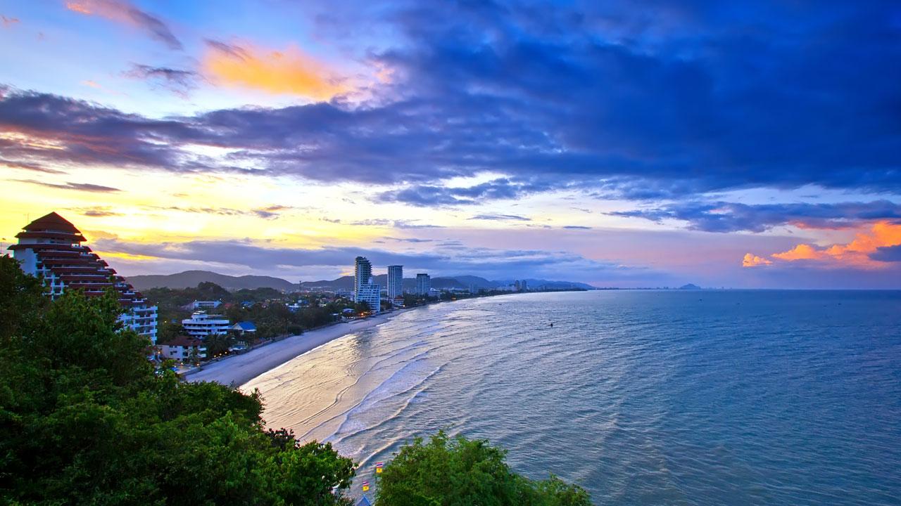 Hua Hun Sunset