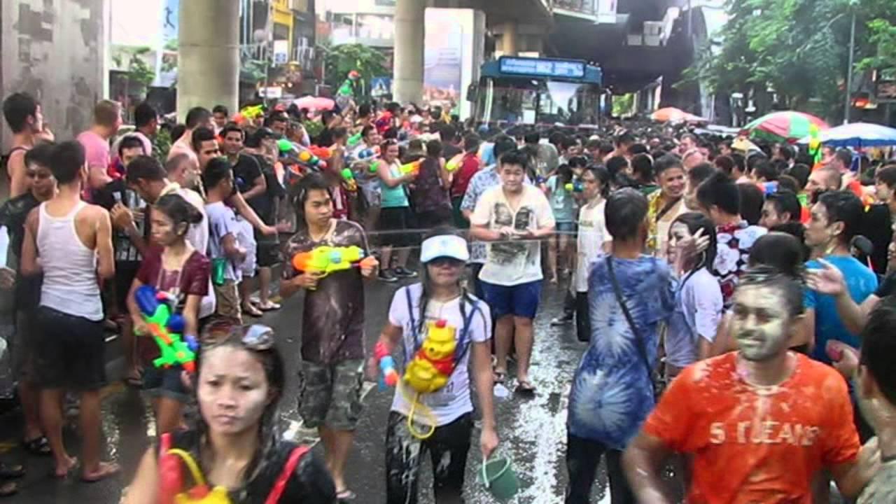 Songkran Thailand Bangkok