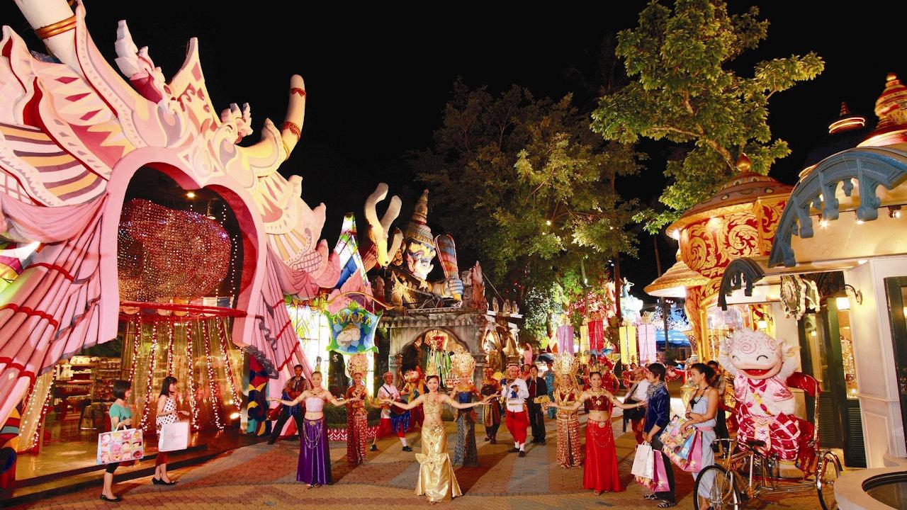 Phuket FantaSea Festival Village