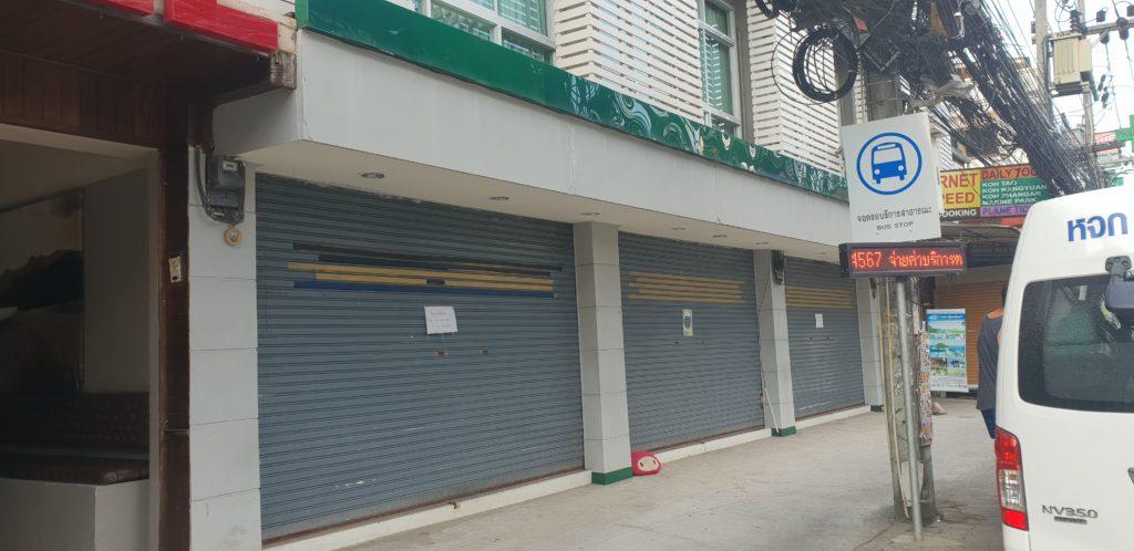 Koh Samui Tourism Decline Shop 20