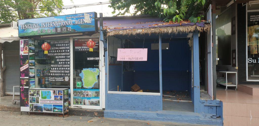 Koh Samui Tourism Decline Shop 14