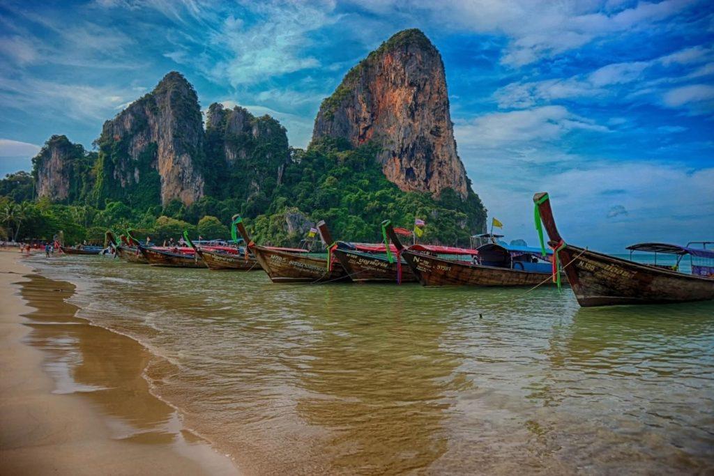 Most Beautiful Beach in Thailand - Railay Beach, Krabi